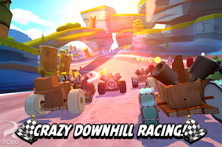 Racing Version Angry Birds Go! Android Game