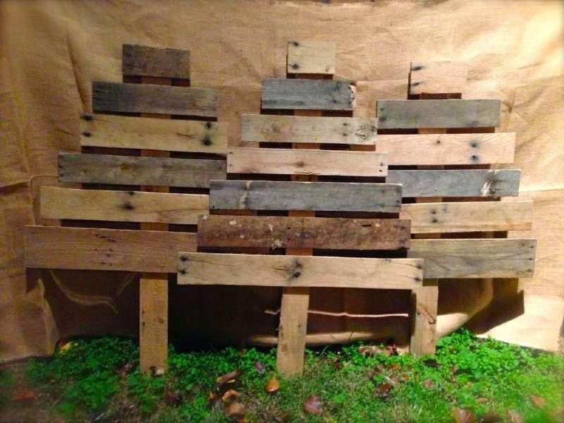 12 ideas para dise ar abetos - Ideas con palets ...