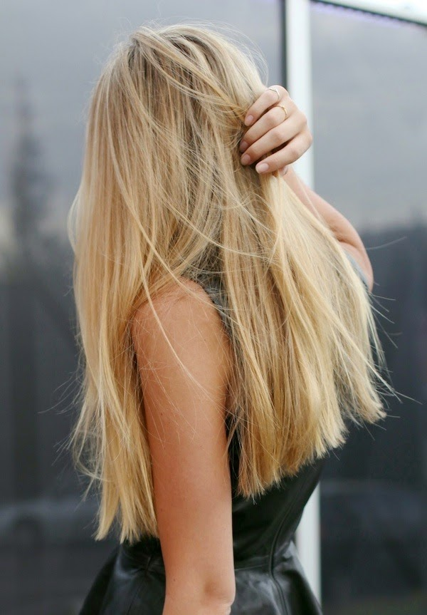 stijl blond haar