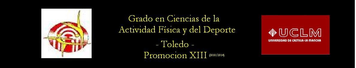 Ciencias del deporte XIII Promocion Toledo -UCLM-