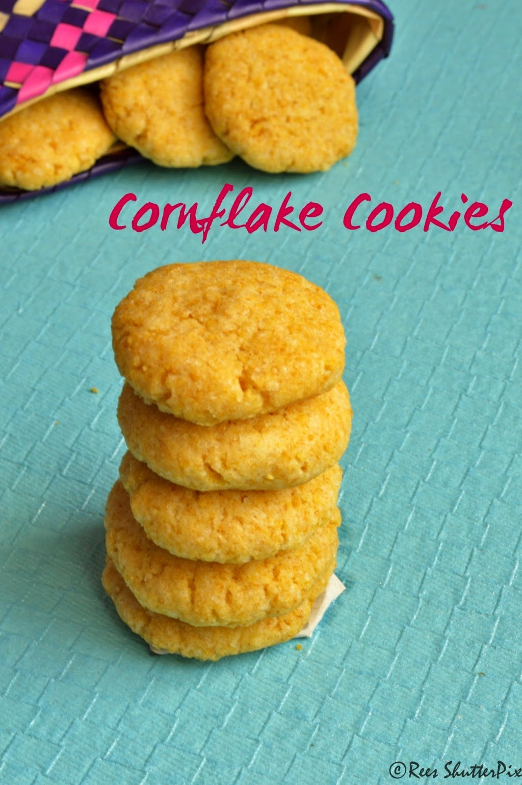 cookies, Teatime snacks, cornflakes,Cornflakes Cookies Recipe | Eggless Baking Recipes,eggless cookies, eggless cornflakes cookies recipe, lemon cookies, lemon cookies recipe, crushed cornflakes cookies, easy cookie recipe,