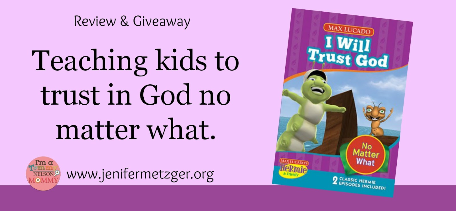Teaching our #children to #trust #God no matter what.