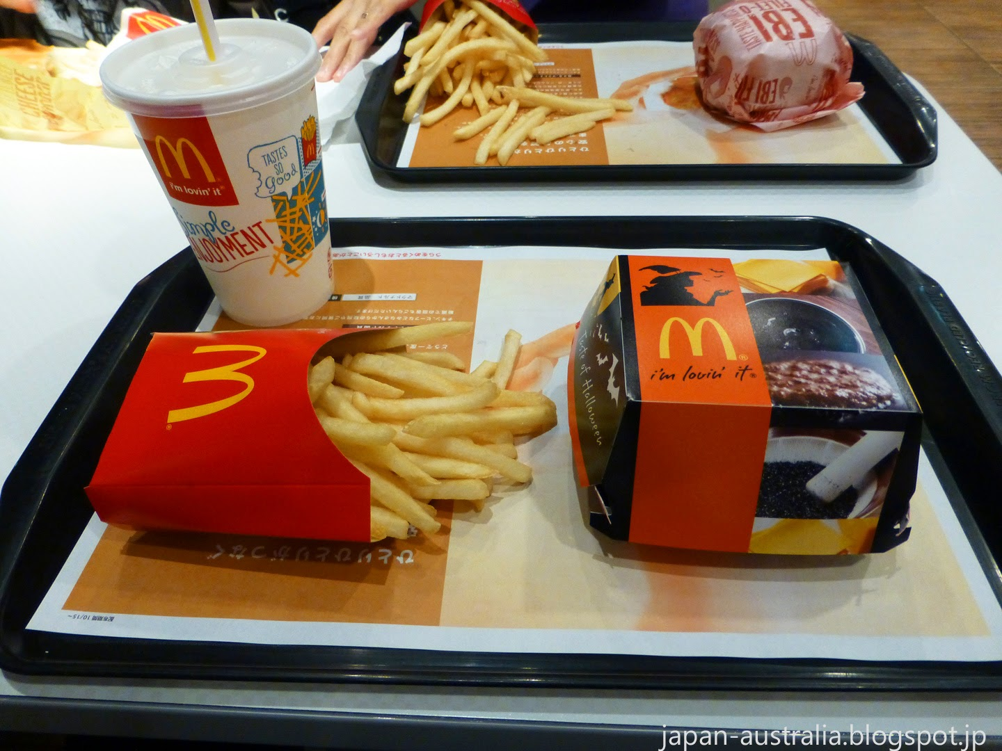 Japan Australia: McDonald's Japan Halloween Burger