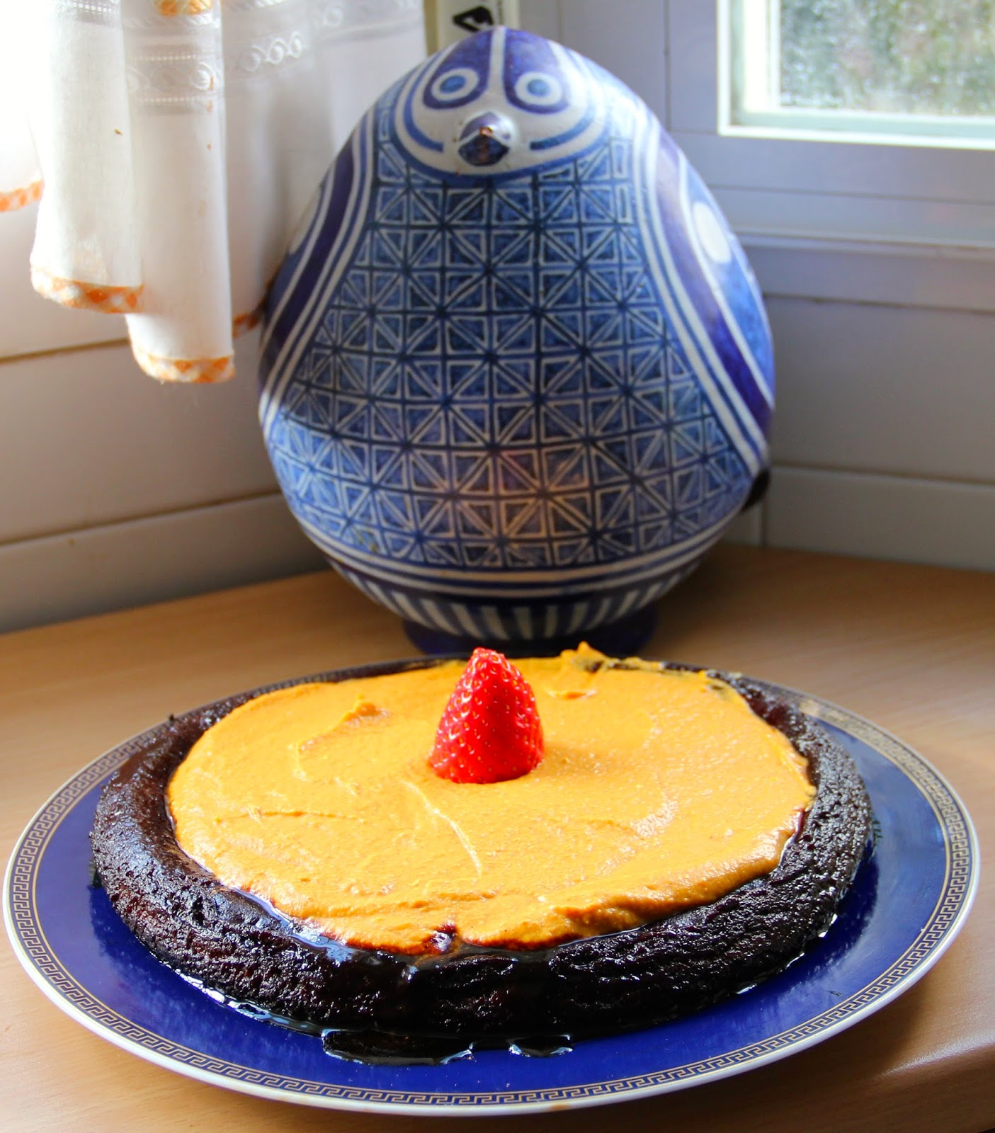 Cocinar es vivir y bordar tambi n pastel de calabaza y for Cocinar zanahorias