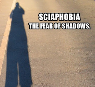 Sciophobia, fear of shadows