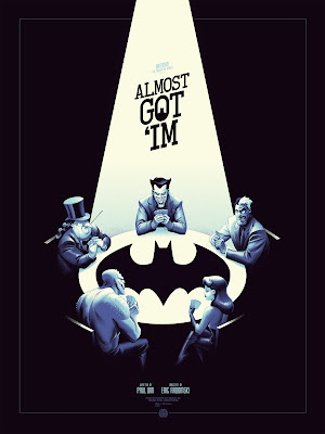 "Batman: The Animated Series ""Almost Got 'im"" Standard Edition Screen Print by Phantom City Creative & Mondo"