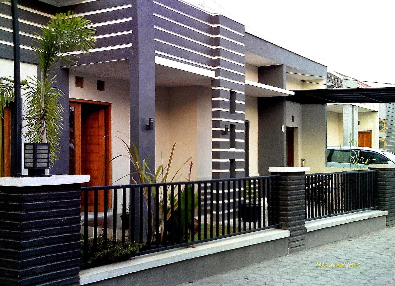 rumah minimalis satu lantai mewah modern  Info Bisnis Properti