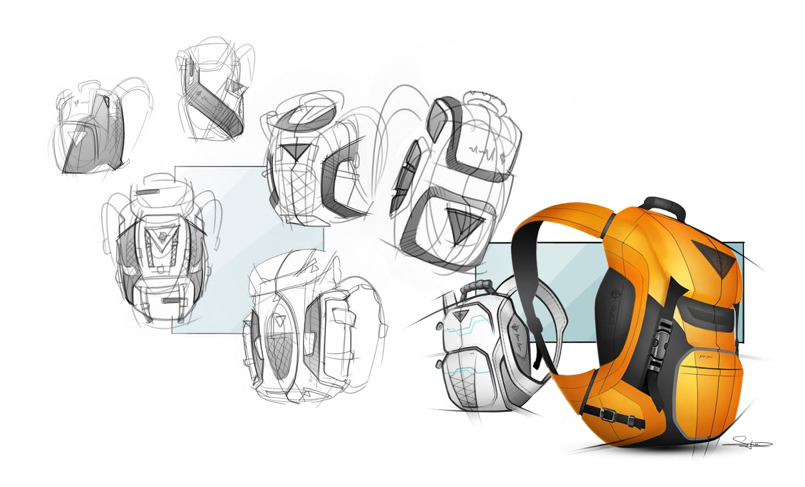 Backpack Sketching Exercise