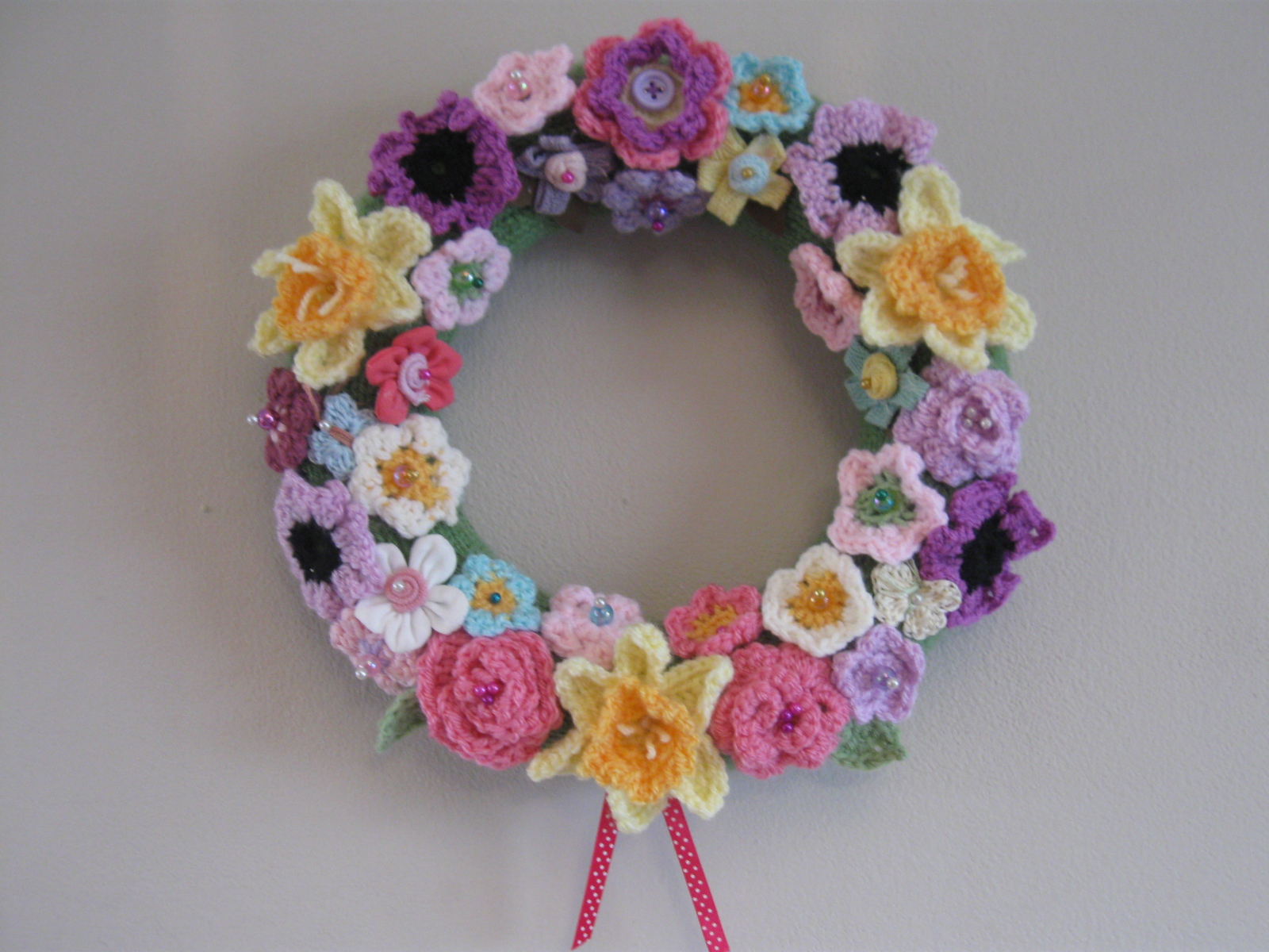 The Summerhouse by the sea: Spring Time Wreath Ta-Dah