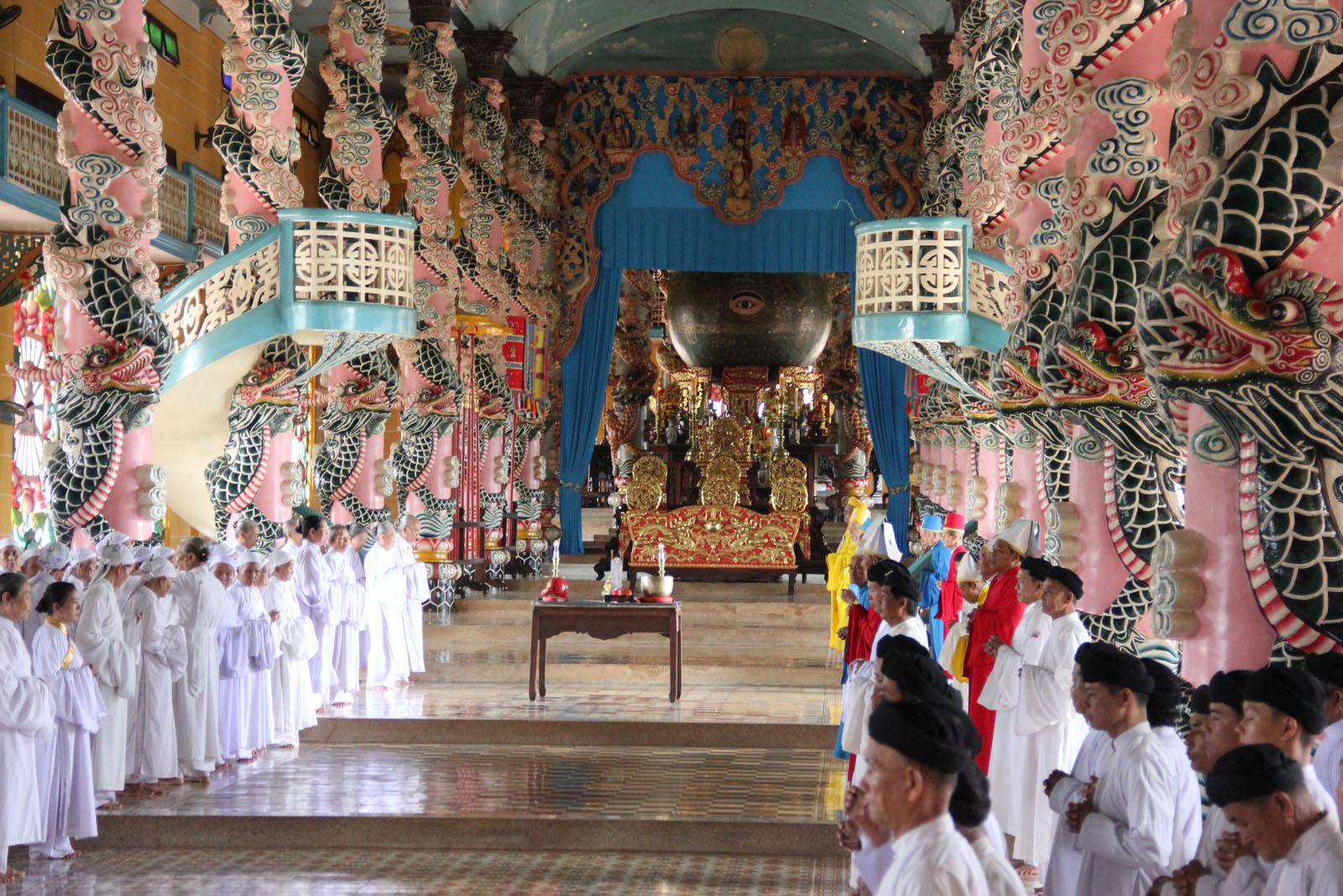 Tay Ninh Vietnam  City new picture : Templo Cao Day de Tay Ninh Vietnam