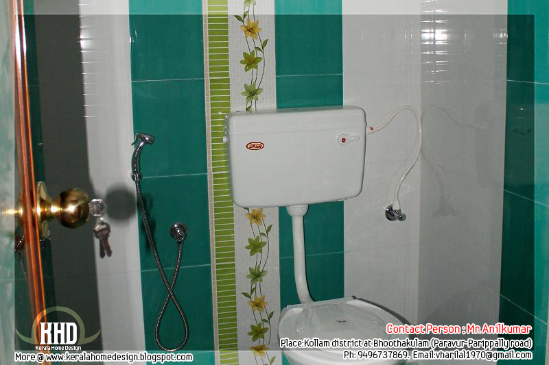 Beautiful new home for sale in kerala kerala home design for Bathroom designs in kerala