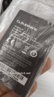 Cloudfone Excite 352g battery