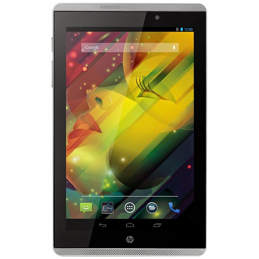 Harga Dan Spesifikasi HP Slate 7 Voice Tab 3G-7 Inch Terbaru, Layar 7 Inch Plus Desain Futuristik