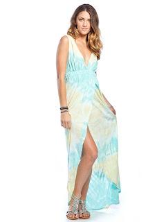 yazlık mavi elbise