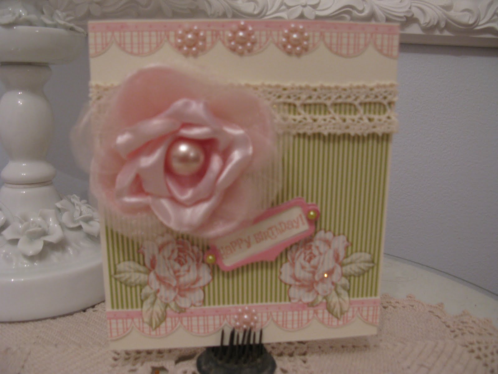 Shabby Chic Happy Birthday