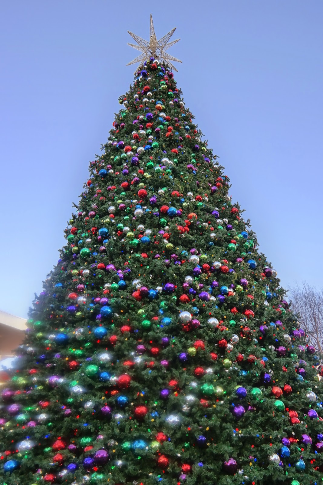 christmas tree at atlantic station, atlanta