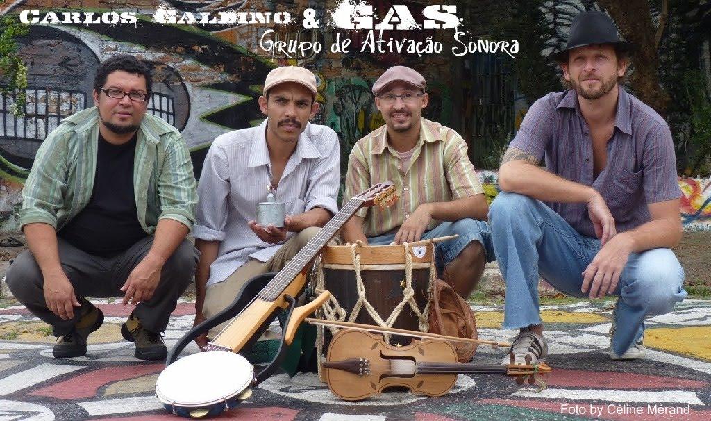 Carlos Galdino & GAS - Grupo de Ativação Sonora