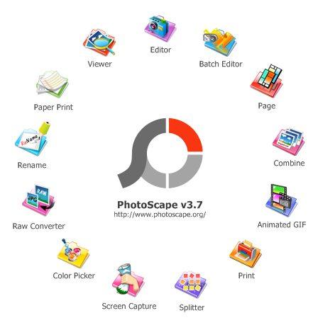 Fitur  Utama Photoscape dan Fungsinya