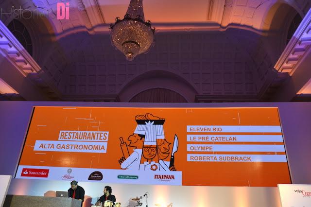 Diversas subcategorias no evento Comer & Beber