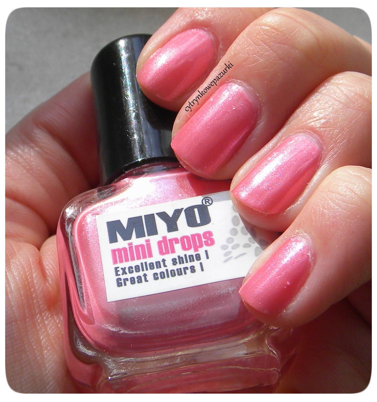 Poniedziałki z Miyo Mini Drops 169 Cosmic Pink Dust
