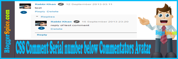 comment numbering