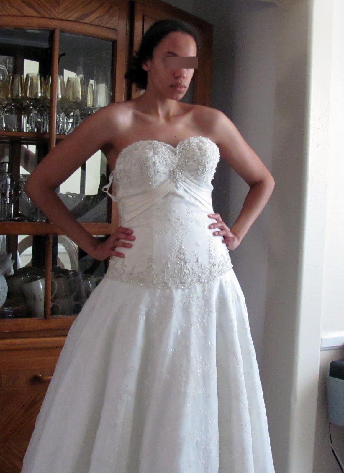 MyEbayShtuff: Wedding Dress