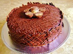Torta de chocolate/sonho de valsa