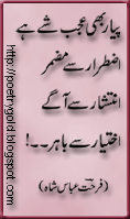 urdu poem,urdu nazam,urdu poetry of farhat abbas shah