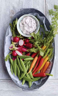 Crudites with Olive Butter