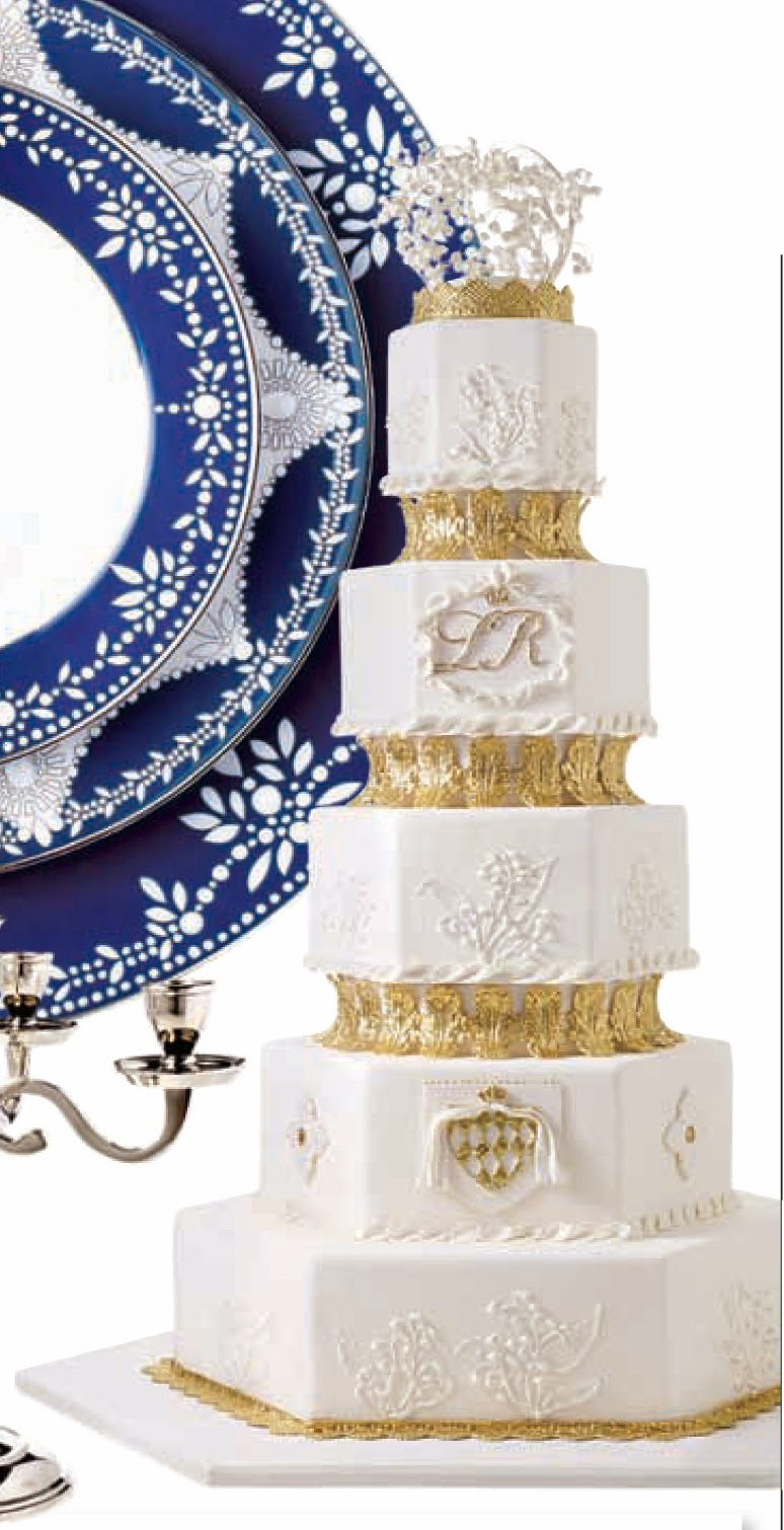 For the Love of Cake! by Garry & Ana Parzych: A Royal Wedding Cake ...