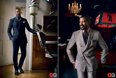 Denzel Washington in GQ Magazine