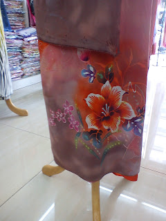 Batik Sutera Crepe Exclusive Purple 5