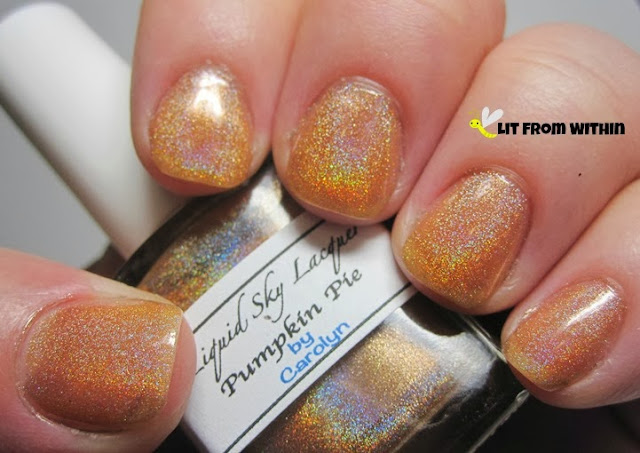 Liquid Sky Lacquer Pumpkin Pie