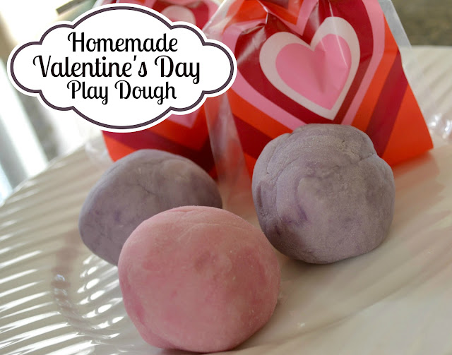 The best homemade play dough with natural organic coloring, Glob paints, Valentine's Day Homemade Play Dough