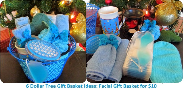 Dollar Store Christmas Gift Basket Ideas
