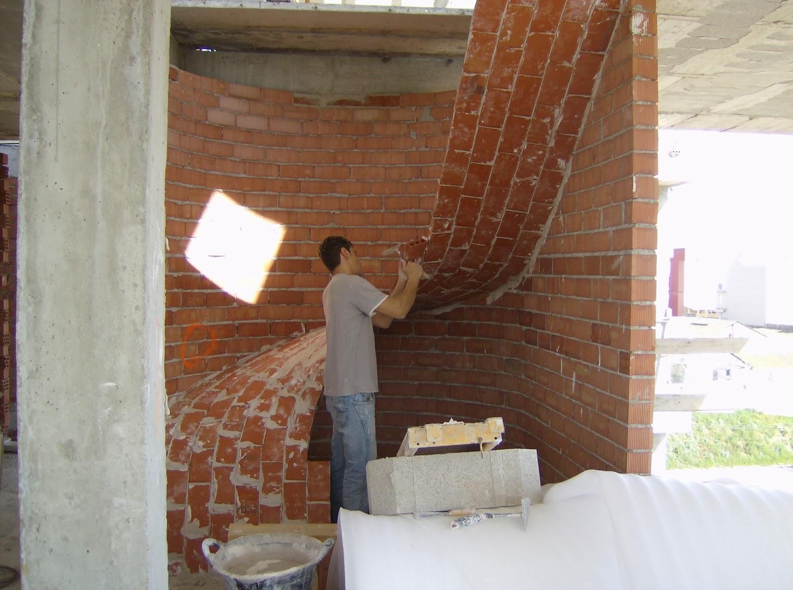 B veda tabicada salvador gomis avi o boveda helicoidal o for Como trazar una escalera de caracol de concreto