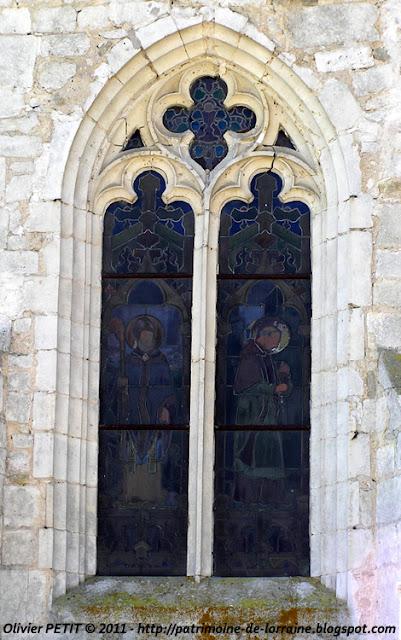 HOUDREVILLE (54) - L'église paroissiale Saint-Epvre