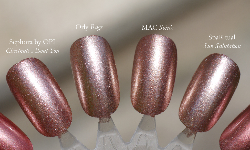 Makeup Magpie Shades Rose Gold