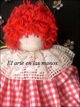 Muñeca Guardabolsas
