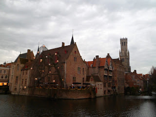 Bruges famous canals.  Perfect for winter walks.