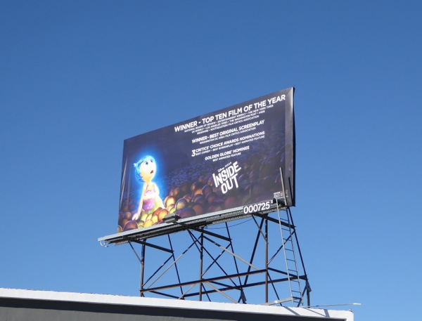 Inside Out awards season billboard