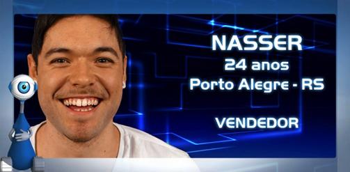 Perfil do BBB13: Nasser - Fotos, Vídeos e Informações