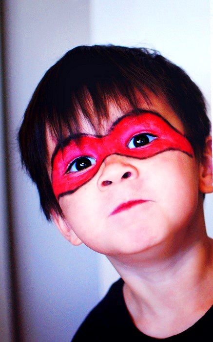 Easy face paint for toddler boys crafts and arts ideas for Painting ideas for boys