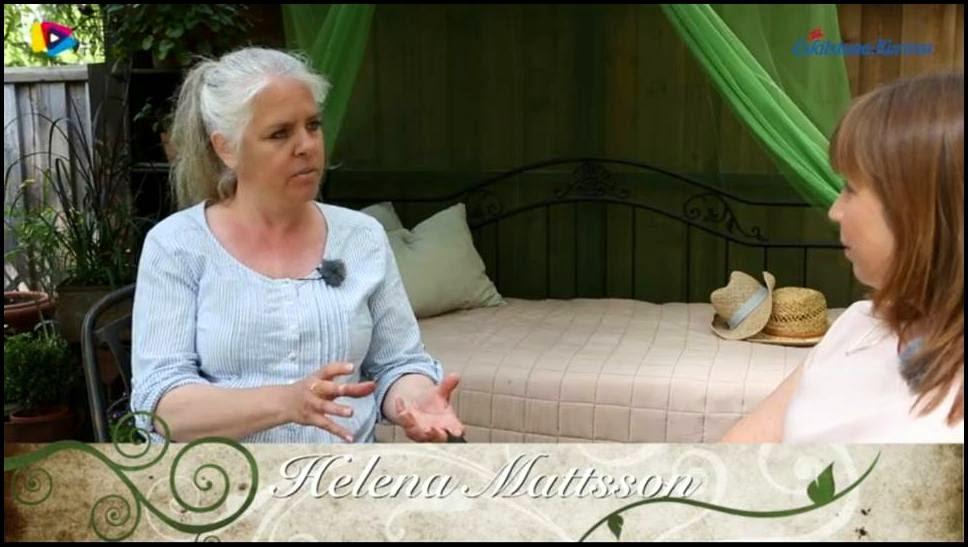 En film från min trädgård.Skriv Helena Mattsson i sökfältet på sidan så kommer filmen upp.