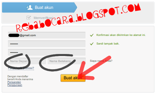 tutorial cara membuat akun 4shared