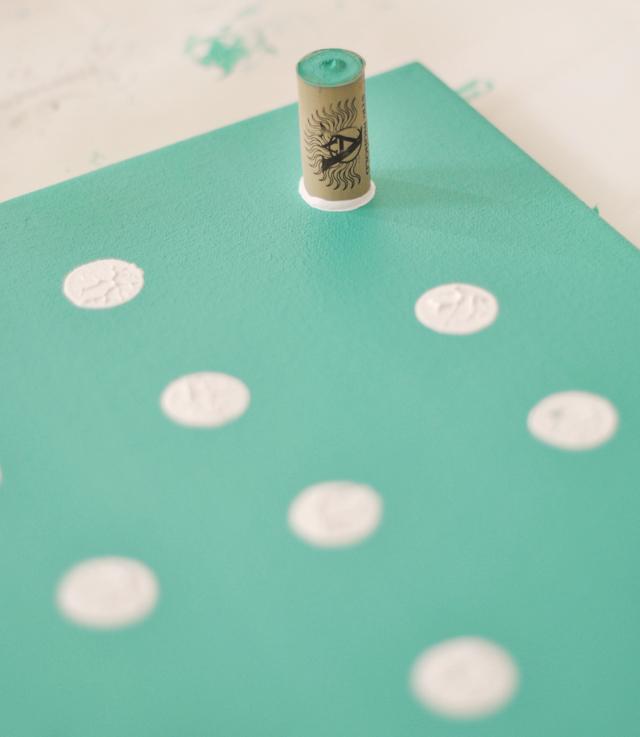 Oh la la bebe como se hace cuadro con inicial - Como se hace el color turquesa ...