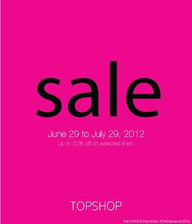 TOPSHOP 50% Sale