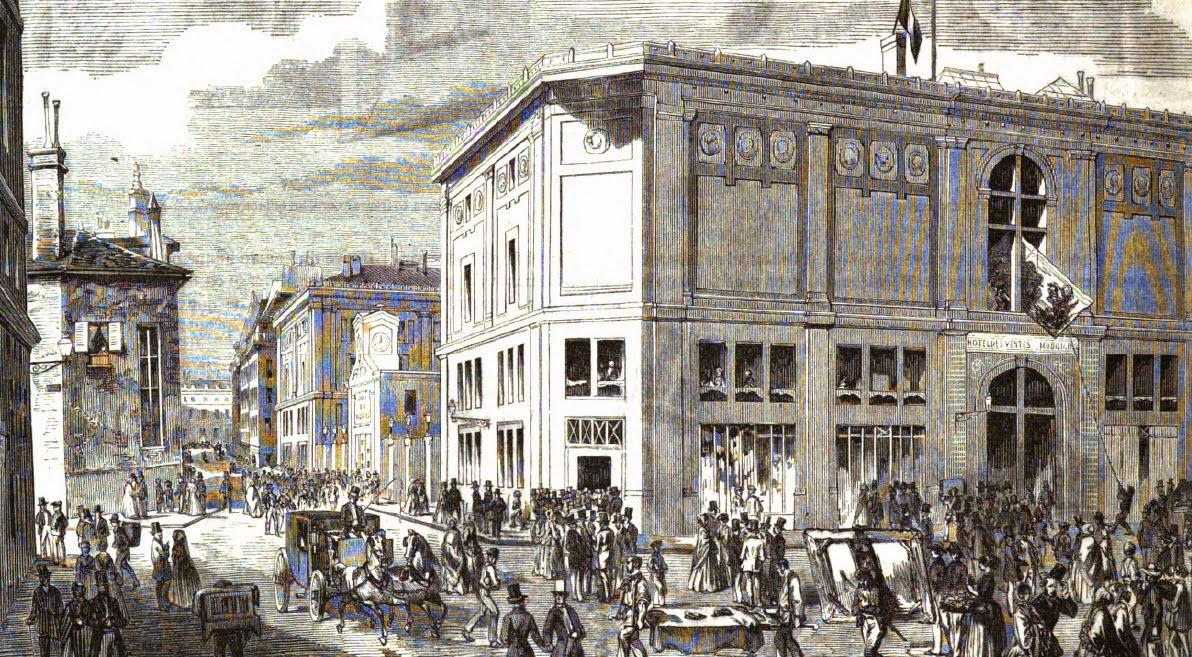 Histoire de la bibliophilie les ventes publiques de livres paris au xixe s - Hotel de ventes drouot ...