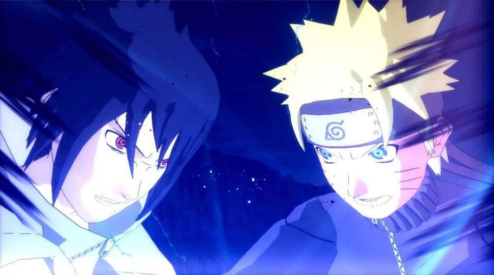 Sasuke Naruto Combined Jutsu
