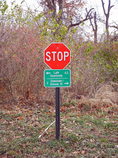 The Fayetteville, AR bike path